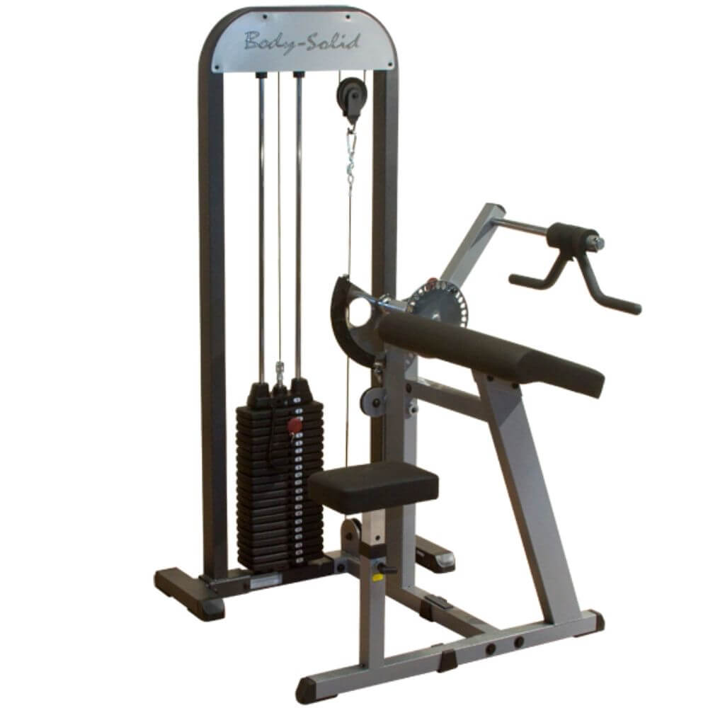 Body-Solid Pro Select GCBT-STK Biceps And Triceps Machine 3D View