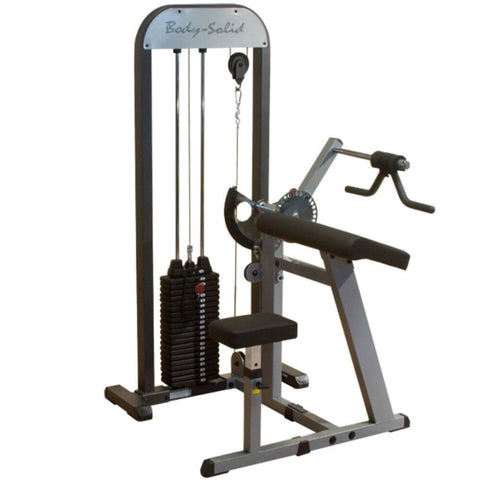 Image of Body-Solid Pro Select GCBT-STK Biceps And Triceps Machine 3D View