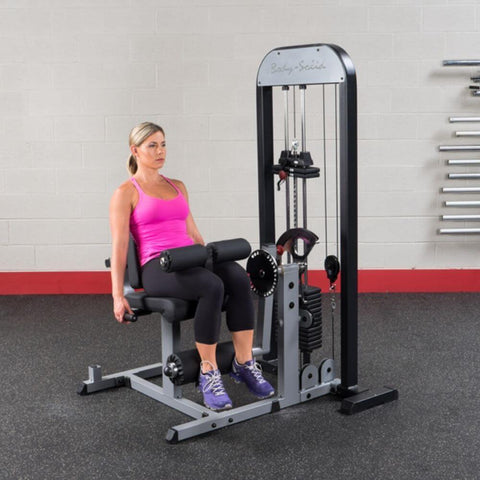 Body-Solid Pro Select GCEC-STK Leg Extension _ Curl Station 90 Degree Leaning Back