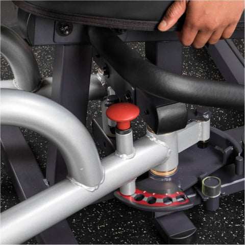 Body-Solid Pro Select GIOT-STK Inner_Outer Thigh Machine Close Up View