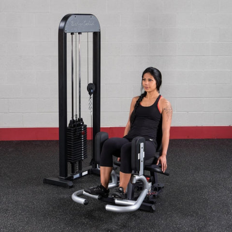Image of Body-Solid Pro Select GIOT-STK Inner_Outer Thigh Machine Exercise Close Legs