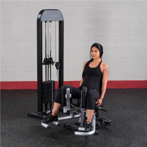 Image of Body-Solid Pro Select GIOT-STK Inner_Outer Thigh Machine Exercise Open Legs 30 Degree