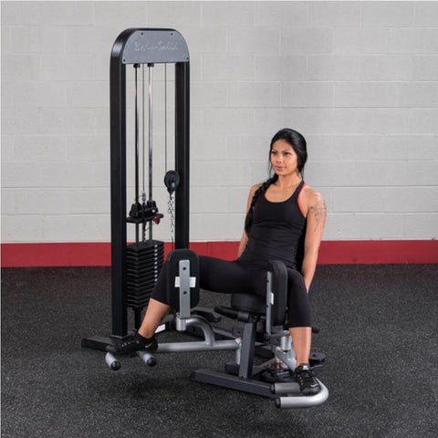 Image of Body-Solid Pro Select GIOT-STK Inner_Outer Thigh Machine Exercise Open Legs 45 Degree