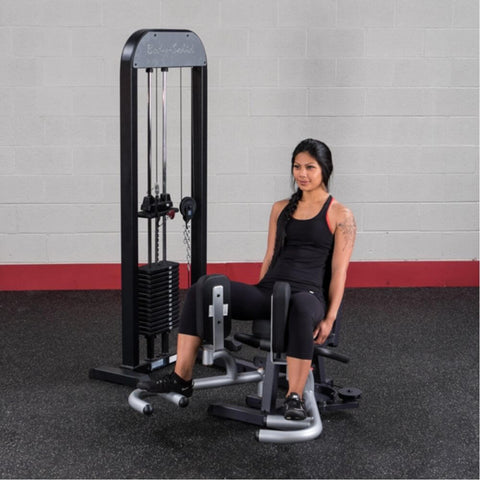 Image of Body-Solid Pro Select GIOT-STK Inner_Outer Thigh Machine Exercise Semi Open