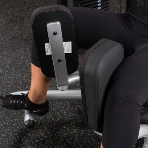 Image of Body-Solid Pro Select GIOT-STK Inner_Outer Thigh Machine Top Front Side View Pads