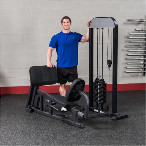 Body-Solid Pro Select GLP-STK Leg And Calf Press Machine Front View