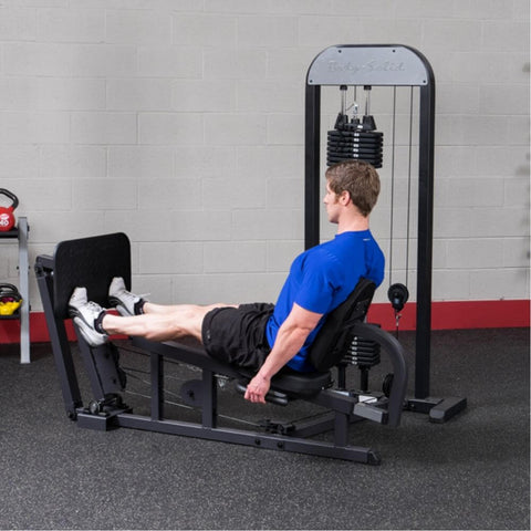 Body-Solid Pro Select GLP-STK Leg And Calf Press Machine Side View