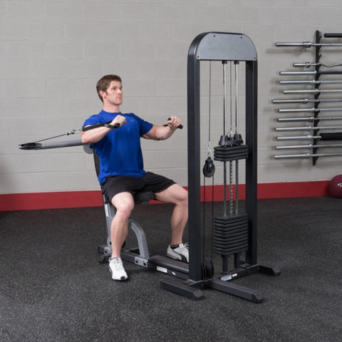 Image of Body-Solid Pro Select GMFP-STK Functional Pressing Station Both Arms On Chest Level