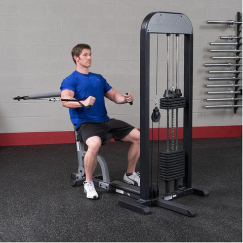 Body-Solid Pro Select GMFP-STK Functional Pressing Station Inside Below Chest