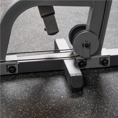 Body-Solid Pro Select GMFP-STK Functional Pressing Station Side View Pulley Below