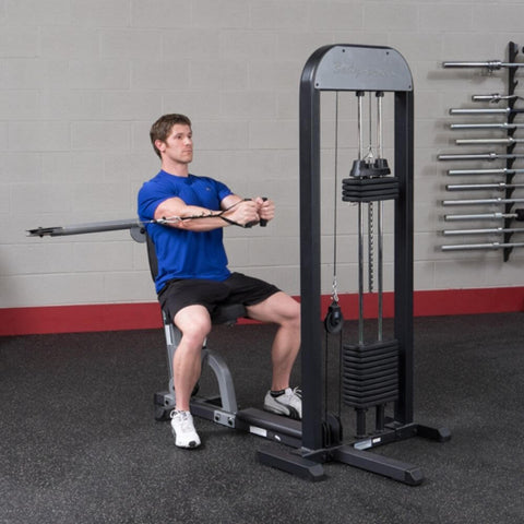 Image of Body-Solid Pro Select GMFP-STK Functional Pressing Station Stretch Both Arm Inside Chest Level