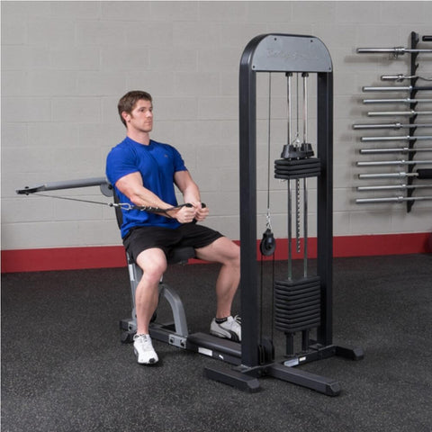 Image of Body-Solid Pro Select GMFP-STK Functional Pressing Station Stretch Both Arm Inside