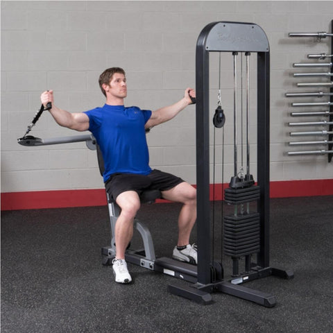 Image of Body-Solid Pro Select GMFP-STK Functional Pressing Station Stretch Both Arm Upward