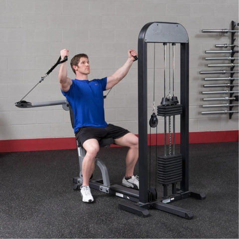 Image of Body-Solid Pro Select GMFP-STK Functional Pressing Station Stretch Both Arms Upward