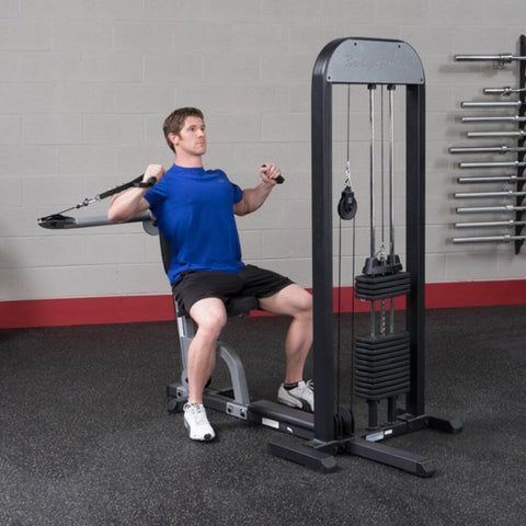 Image of Body-Solid Pro Select GMFP-STK Functional Pressing Station Stretch Forward Bended Elbows