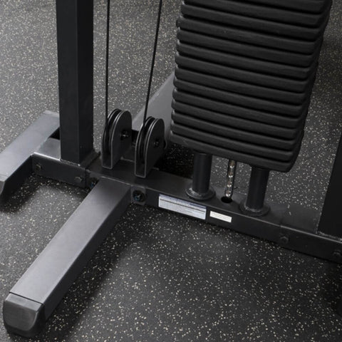 Image of Body-Solid Pro Select GMFP-STK Functional Pressing Station Weight Stack Back View