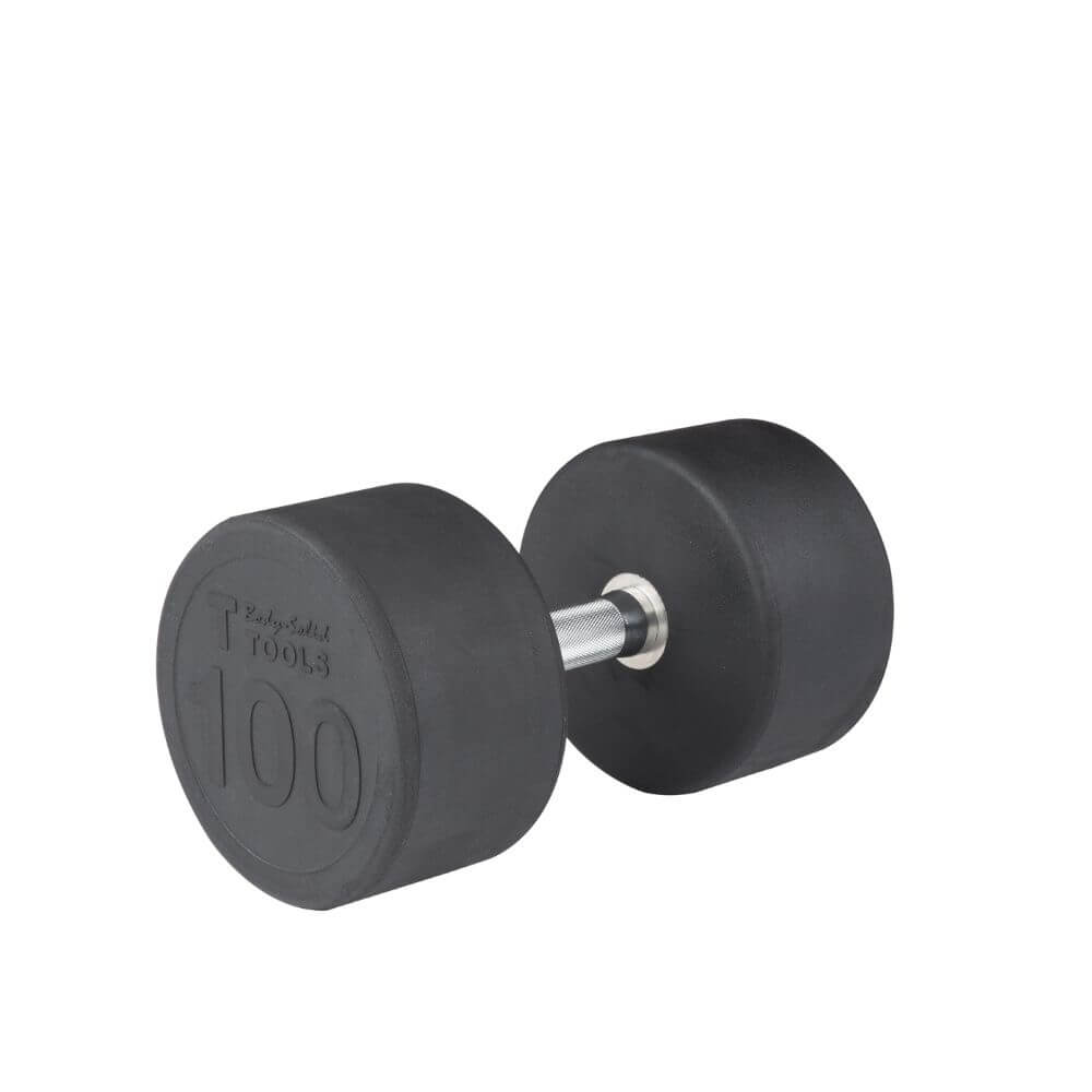 Body-Solid SDP Rubber Round Dumbbells 100 lbs