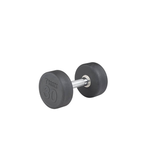 Body-Solid SDP Rubber Round Dumbbells 30 lbs