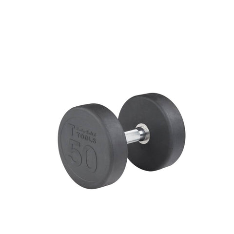 Body-Solid SDP Rubber Round Dumbbells 50 lbs
