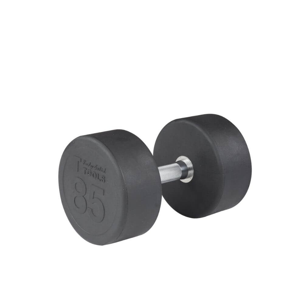 Body-Solid SDP Rubber Round Dumbbells 85 lbs