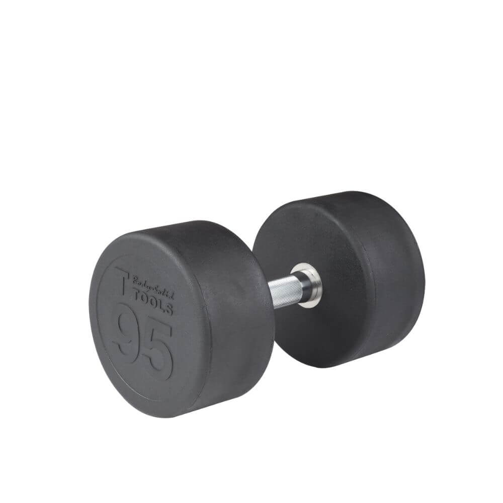 Body-Solid SDP Rubber Round Dumbbells 95 lbs