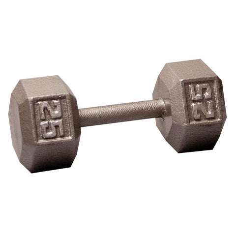 Image of Body-Solid SDX Cast Iron Hex Dumbbells 25 lbs