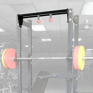 Body-Solid SPRDCB Half Rack Dual Chin Bar Faded