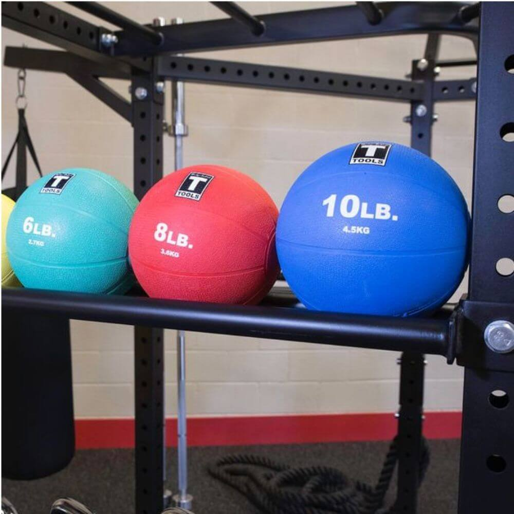 Body-Solid SR-HEXDBLP4 Hexagon Pro Double Package Medicine Ball Tray
