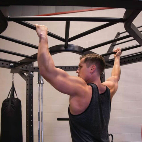 Image of Body-Solid SR-HEXDBLP4 Hexagon Pro Double Package Monkey Bar