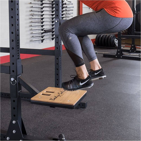 Image of Body-Solid SR-STEP Plyo Step Attachment Jumping