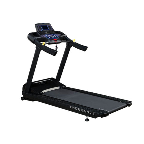 Body-Solid T150 Commercial Treadmill Back Side View Close Up