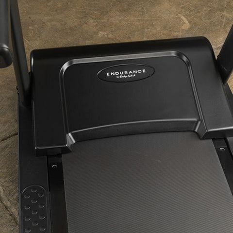 Body-Solid T150 Commercial Treadmill Top View Close Up