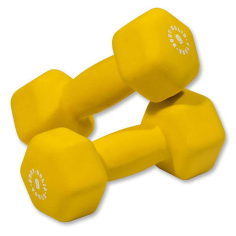 Image of Body-Solid Tools BSTND Neoprene Dumbbells 9 lbs Pair