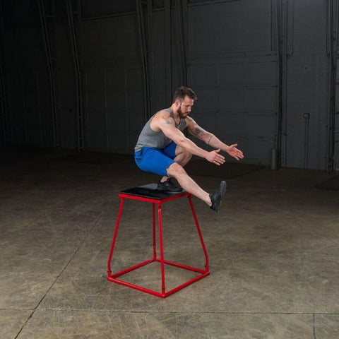 Image of Body-Solid Tools BSTPBS Plyo Box Sets Balancing Over
