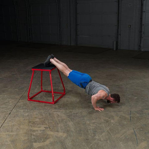 Image of Body-Solid Tools BSTPBS Plyo Box Sets Leg Elevated Push Up