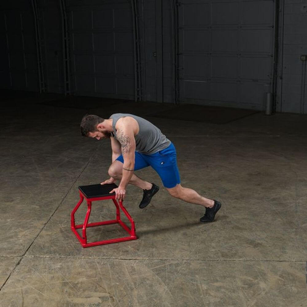 Body-Solid Tools BSTPBS Plyo Box Sets Running Position