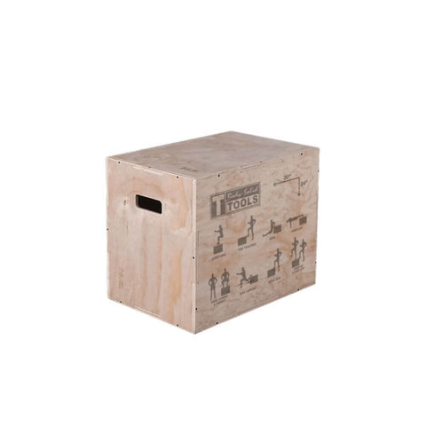 Image of Body-Solid Tools BSTWPBOX 3-in-1 Wooden Plyo Box 3D View