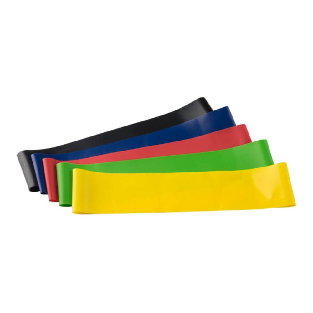 Body-Solid Tools Mini Loop Bands 5-Pack (1 Of Each Band)