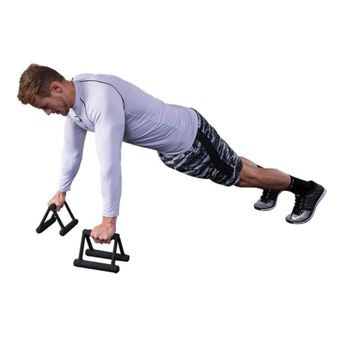 Image of Body-Solid Tools PUB5 Premium Push Up Bars Side View
