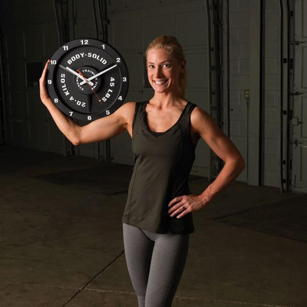 Body-Solid Tools STT45 Strength Training Time Clock One Hand Hold