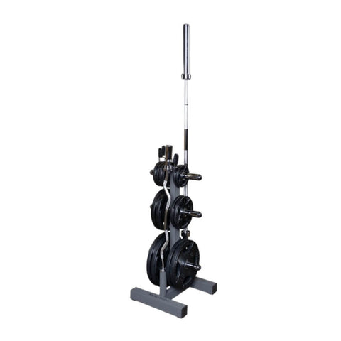 Image of Body-Solid WT46 Olympic Weight Tree With 1 Bar