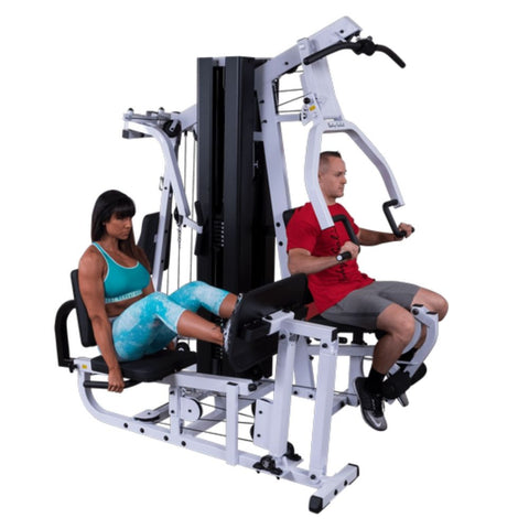 Body-Solid EXM3000LPS Home Gym with Flooring Package