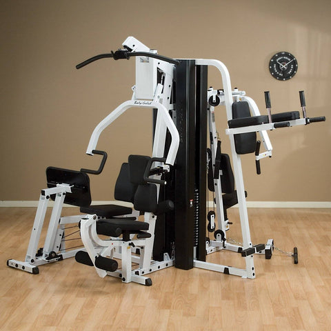 Image of Body-Solid EXM3000LPS Multi Stack Home Gym with VKR30 Vertical Knee Raise