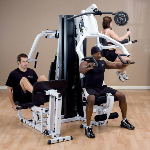 Image of Body-Solid EXM3000LPS + VKR30 Leg Press and Chest Press with Model