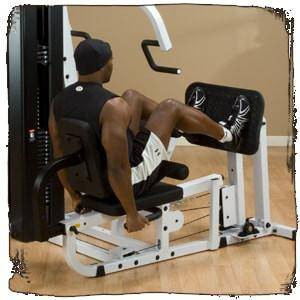 Body-Solid EXM3000LPS Leg Press Rear View