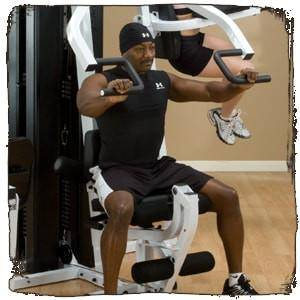 Body-Solid EXM3000LPS Chest Shoulder Press View