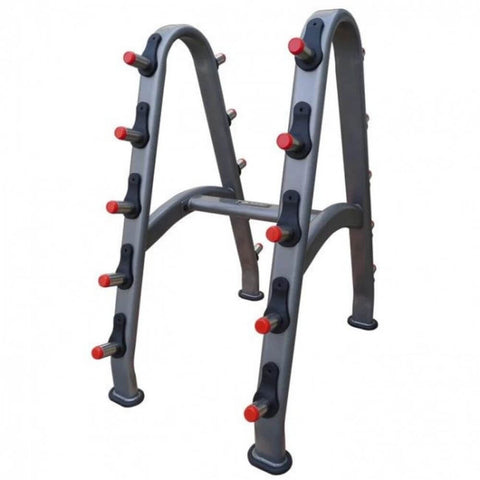 Image of Element Fitness 10-Pair Barbell Rack 3D View