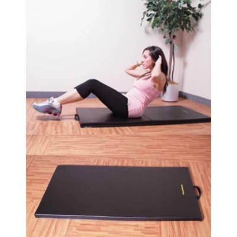 Image of Element Fitness 2_ Non Folding Mat 2x4 _New Arrival Top Side View