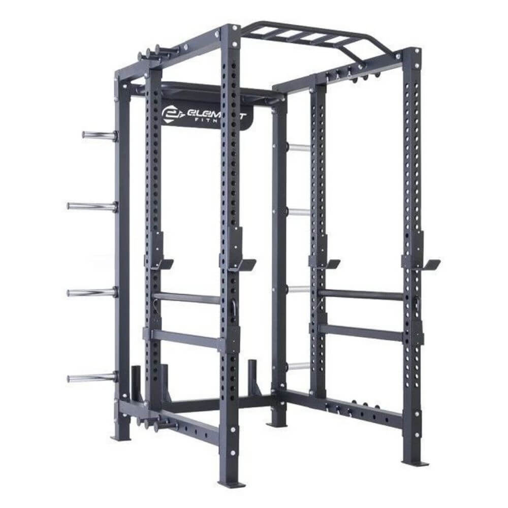 Element Fitness 8700 Elite Series Power Rack 3D View