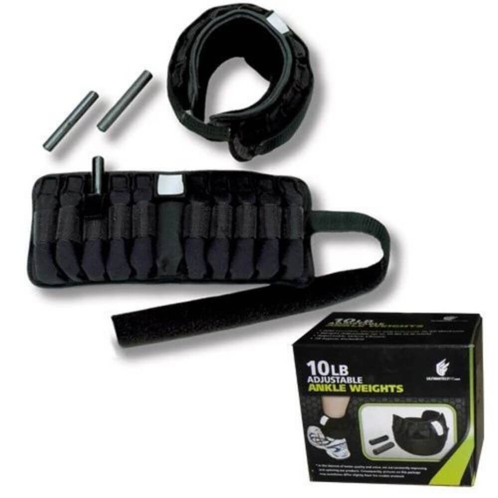 Element Fitness Adjustable Ankle Weights 10 lbs